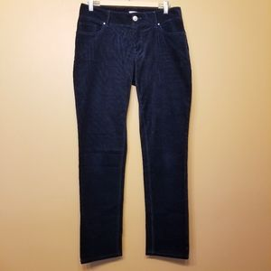 Banana Republic | Navy Corduroy Pants (Size 10)
